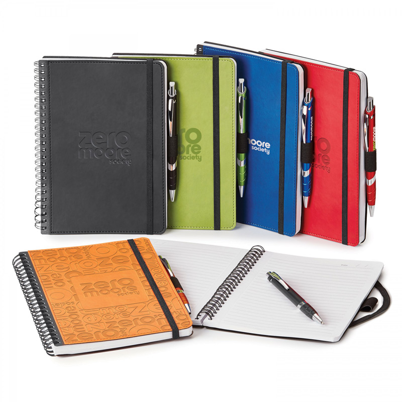 DONALD. SPIRAL BOUND JOURNAL COMBO (POLYPRO)