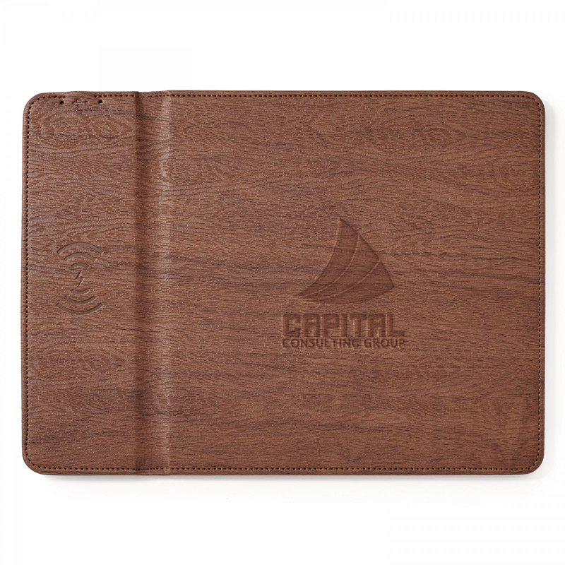 Ronan .  Wireless Charger Mouse Pad