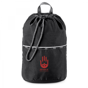 ATHLEISURE. DRAWSTRING BACKPACK