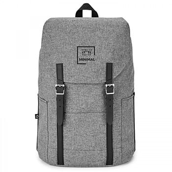 AQUA . FLIP-TOP BACKPACK