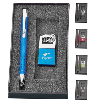 Alissia. Pen & Key Ring Gift Set