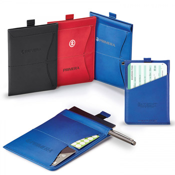 Donald. Rfid Memo Pad/Passport Holder