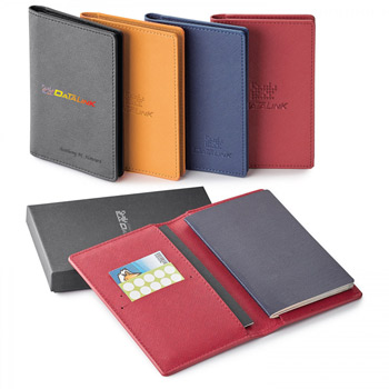 Toscano. Genuine Leather Rfid Booklet/.  Passport Holder