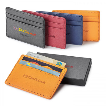 Toscano. Genuine Leather Rfid.  Card Holder