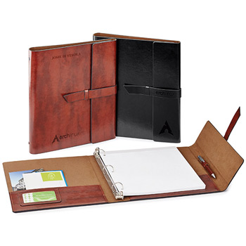 FABRIZIO. REFILLABLE PORTFOLIO/3RING BINDER
