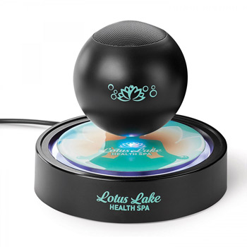 Air Orb. Wireless Levitating Speaker. Includes Ul Certified Wall Charger